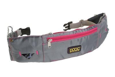 Doog Walkie Belt - Grey & Neon Pink