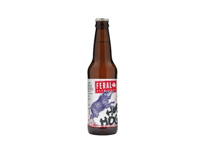 Feral Hop Hog Pale Ale Bottle 330mL