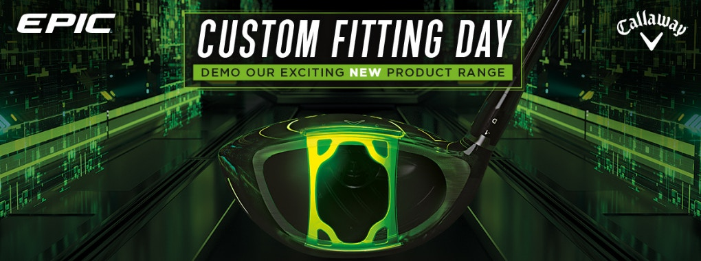 Banner - Callaway Fitting Services - Book Now