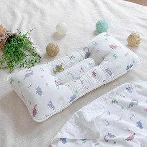 Bebenuvo Double Pillow - Alphabet Dino