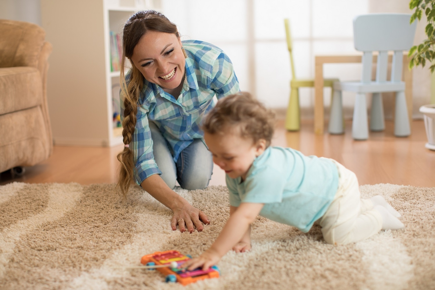 Physical Development in Your Baby