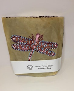 Dream Forest Studio Dragonfly 103 Beeswax Bag