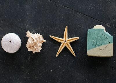 Handmade Natural Exfoliating Soap Bar - Jambiani