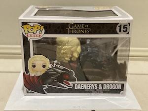 Daenerys Targaryen (Riding Drogon) #15 - Game of Thrones
