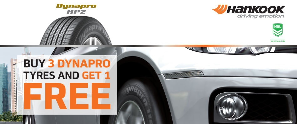 Hankook Buy 3 Get 1 Free Promotion Bob Jane T-Marts