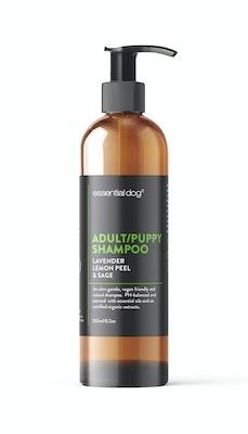 Essential Dog Natural Adult and Puppy Dog Shampoo (Lavender, Lemon Peel & Sage)
