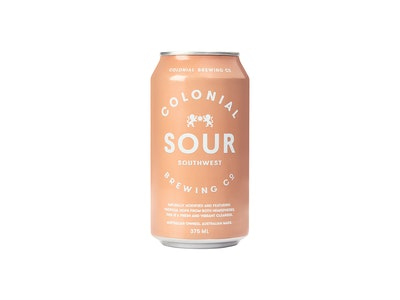 Colonial Brewing Co. South West Sour Can 375mL