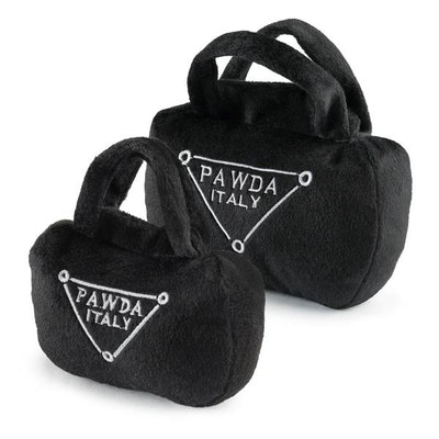 Haute Diggity Dog Pawda Handbag Dog Toy
