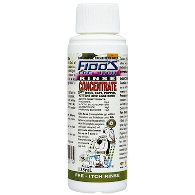 Fidos Fre-Itch Rinse Concentrate Dogs & Cats Flea Treatment - 2 Sizes
