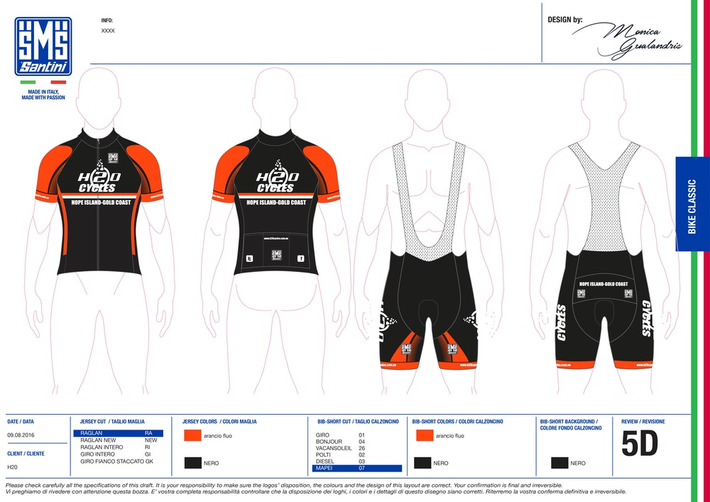 custom cycling clothing buyers guide sketch designs santini
