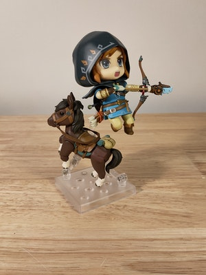 Link Breath of the Wild Ver. DX Edition Nendoroid