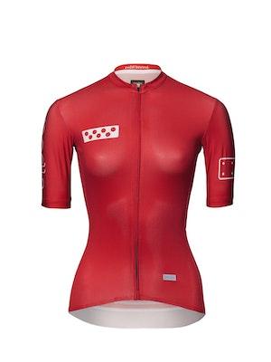 Pedla BOLD / Women's LunaTECH Jersey - Deep Red
