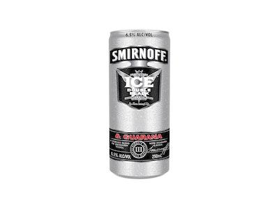 Smirnoff Ice Double Black & Guarana 6.5% Can 250mL