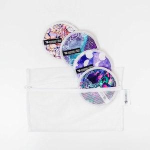 Designer Bums Nursing Pads Trial Pack - Purples