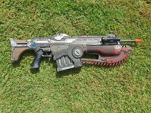 Gears of war 4 lancer in great condition