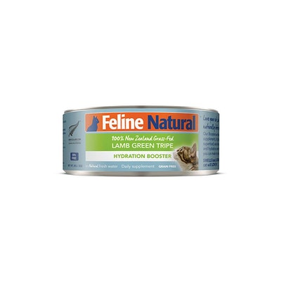 FELINE NATURAL Canned Lamb Green Tripe Hydration Booster 85G