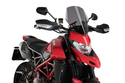 Puig New Generation Sport Screen Ducati Hypermotard 950/SP/RVE (Dark Smoke)
