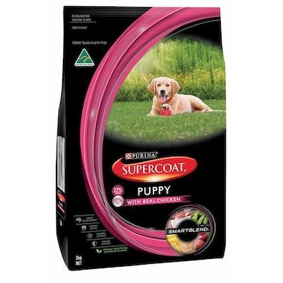 Supercoat Smartblend Puppy Chicken Dry Dog Food