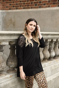 Bump Love Maternity Lexi Lace Top