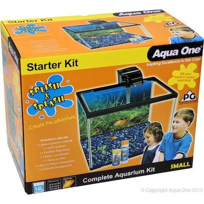 Aqua One AO Splish & Splash 28L Starter Kit Lrg
