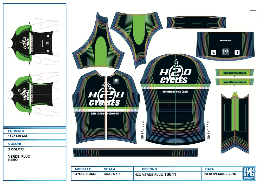 custom cycling clothing buyers guide sketch designs santini 2