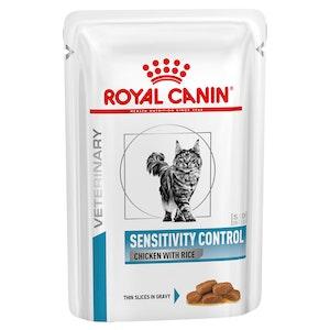 Royal Canin Veterinary Diet Cat Sensitivity Control Chicken & Rice 12 x 85g