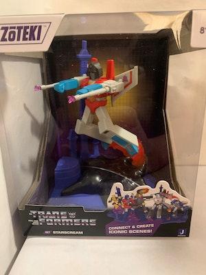 Starscream Transformers Zoteki – Series 1 Diorama Figure New in Box