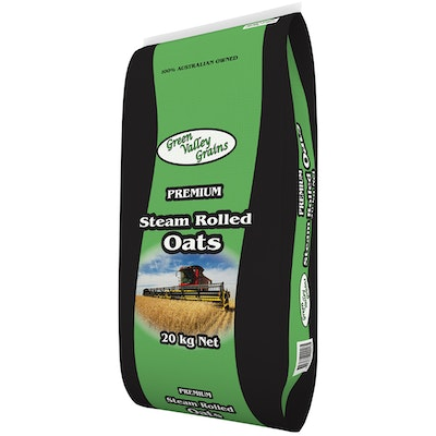 Green Valley Oats Steam Rolled Animal Feed Supplement 20kg