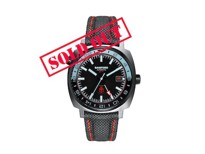 Time+Tide Watches  Bamford x Time+Tide GMT1 Limited Edition
