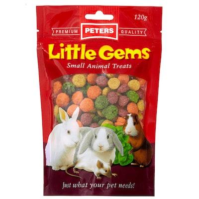 Peters Little Gems Small Animals Food Treats 4 x 120g