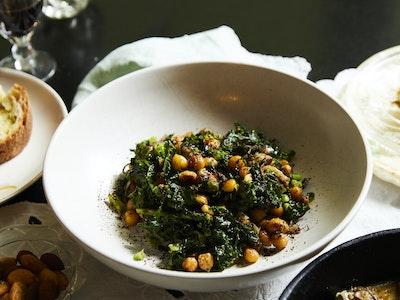 Bar Lourinha Spiced chickpeas & Spinach