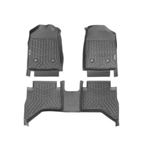 3D Tpe Floor Mats Fit Holden Colorado Dual Cab 2012 2020