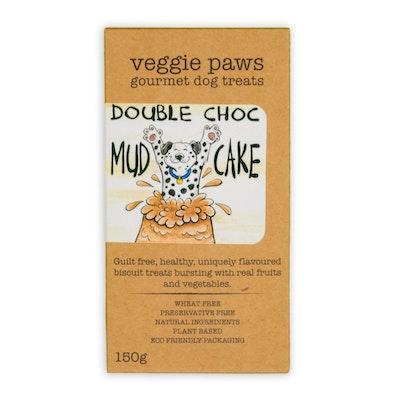 Veggie Paws Double Choc Mudcake 150G