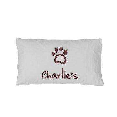 Charlie's Pet Pillowcase White
