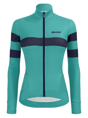 Santini SMS Coral Bengal Wmn's Long Sleeve Jersey