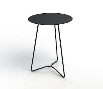 PRE ORDER - Contorto Rap Side Table - Silver Spec