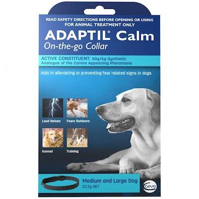 Adaptil Calm Adjustable Dogs Calming Collar Medium & Large