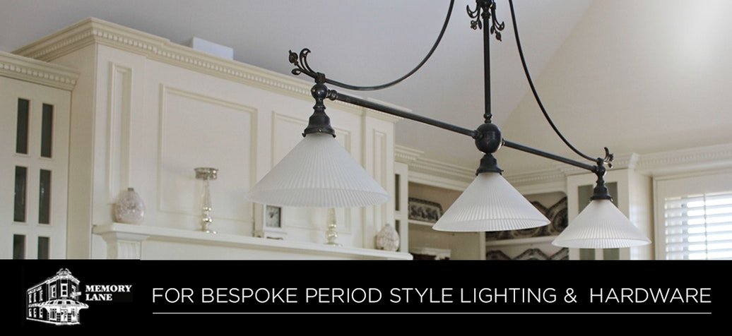 Memory Lane For Bespoke Period Style Lighting Hardware