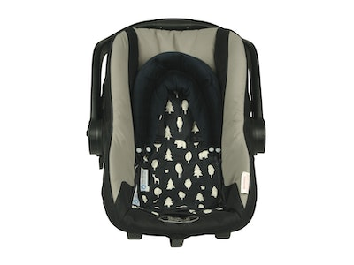 Keep Me Cosy™ Baby Head Support for Car Seat, Pram or Strollers (Twin Pack) - Woodland Friends