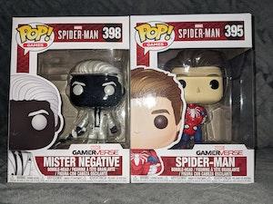 Spider-Man (Unmasked) & Mister Negative - Marvel's Spider-Man PS4 Pop Bundle