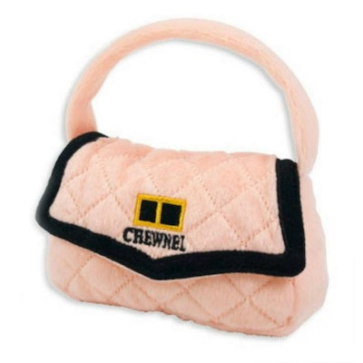 Doggy Topia Chewnel Pink Bag Dog Toy