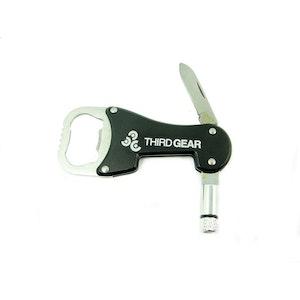 Third Gear Knife Light Bottle Opener