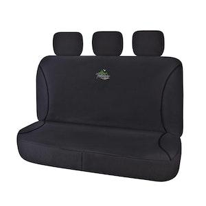 Universal Trailblazer Rear Seat Covers Size 06/08H - Black