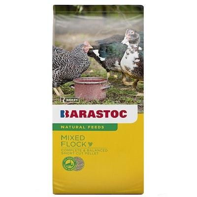 Barastoc Mixed Flock Bird Fowl Chicken Duck Quail Feed 20kg