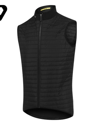 Attaquer All Day Quilted Gilet Black