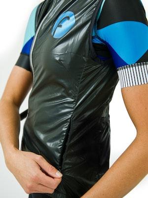 Fondo Women's Cycling Windproof Vest - Blue