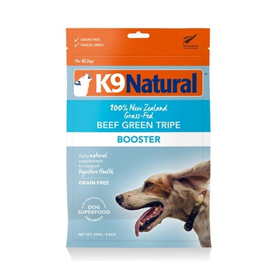 K9 Natural Beef Green Tripe 250G (Booster)