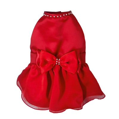 DoggyDolly BIG DOG - Cherry Red Doggy Dress ( Sleeveless )