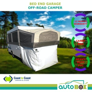 "Jayco ""Outback"" Off Road Camper Trailer Bed End Garage Storage Room Annex Cubby"