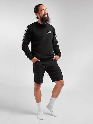 Black Sheep Cycling Men's Crew Jumper - MR Black